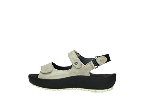 Wolky Sandalen für Frauen 30150 taupe Leder