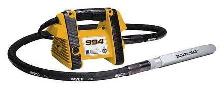 Wyco - W994G1T-100-7 - Electric Vibrator, 15A, 115VAC, 1-Phase, 3hp