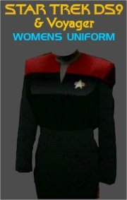 Star Trek DS9 & Voyager Women's Uniform Costume Pattern (Star Trek Voyager Costume)