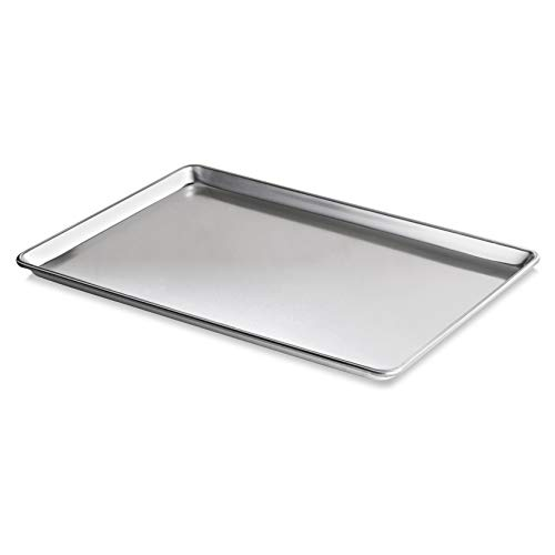 New Star Foodservice 36923 Commercial-Grade 18-Gauge Aluminum Sheet Pan/Bun Pan, 18