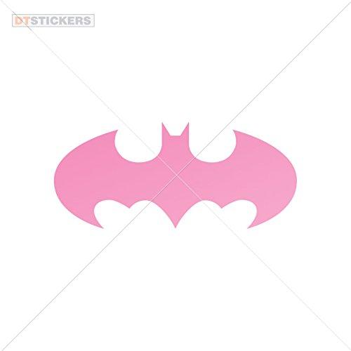 Decal Halloween Batman Car window jet ski Knight icons happy berlin (8 X 3,52 Inches) Pink - Dusk Berlin