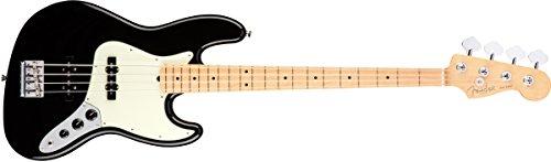 essional Jazz Bass - Black w/ Maple Fingerboard ()