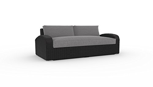 Cheap  Toja Azores Outdoor Patio Sofa | Wicker Rattan Body with Sunbrella Cushions..