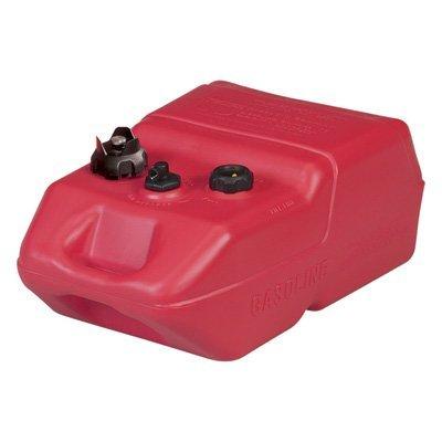 Moeller Portable Fuel Tanks - Moeller Marine EPA- Compliant Topside Fuel Tank - 6 Gallons, Low Profile, Model# 620049LP