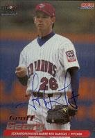 Geoff Geary Scranton/W-B Red Barons - Phillies Affiliate 2001 Choice Autographed Card - Minor League Card. This item comes with a certificate of authenticity from Autograph-Sports. Autographed