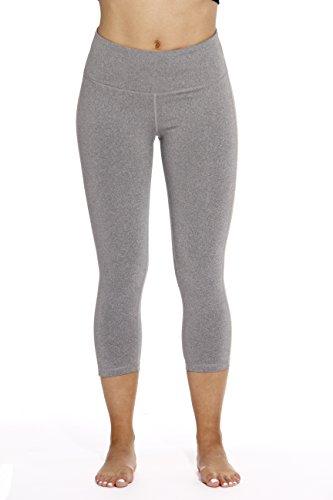 401574-HGR-S Just Love Yoga Capri Pants for Women