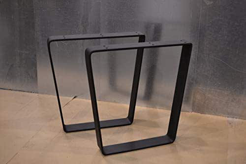 Amazon Com Metal Table Legs Bent Trapezoid Style Any