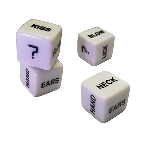 Novelty Game Dice 16mm Dice Set, Fun to use,2 Pair
