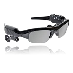 youyoute 5 in 1 Bluetooth Sunglasses Sport Glasses Camera + Video + Mp3 +Built-in 8GB of Memory+bluetooth Sunglass