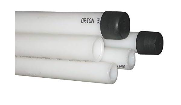 Amazon com: Polypropylene White Lab Sink Overflow, 1-1/4