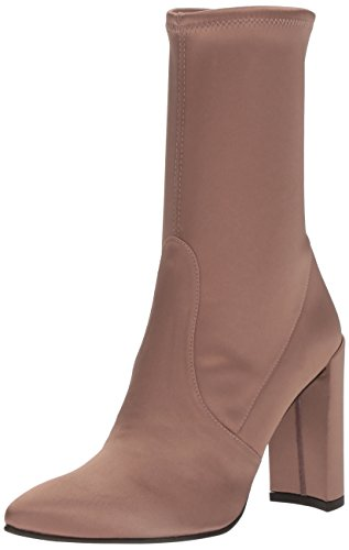 Stuart Weitzman Women's Clinger Ankle Boot, Old Rose, 7 Medium US