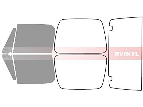 Rtint Window Tint Kit for Jeep Wrangler 1990-1995 - Front Kit - 50%