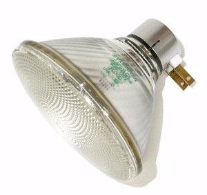 Sylvania 14632 - 90PAR/CAP/3FL30 120V PAR38 Halogen Light Bulb Par 38 Side Prong