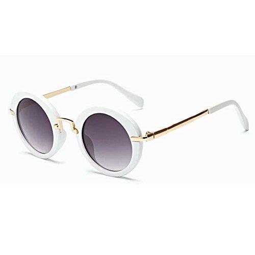 My.Monkey Age 3-10 Kids Childrens UV Protection Polarized Cute Sunglasses(White)
