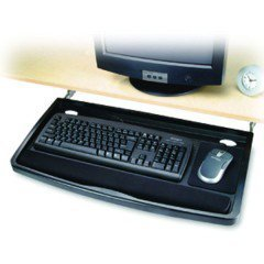 - Underdesk Comfort Keyboard Drawer with SmartFit¨ System