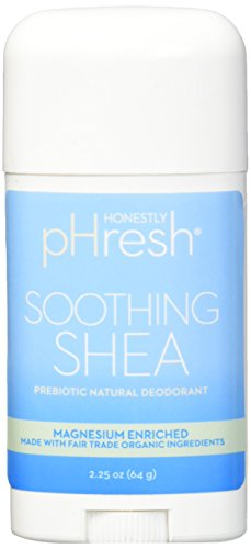 HONESTLY PHRESH Soothing Shea Stick Deodorant, 0.02 Pound