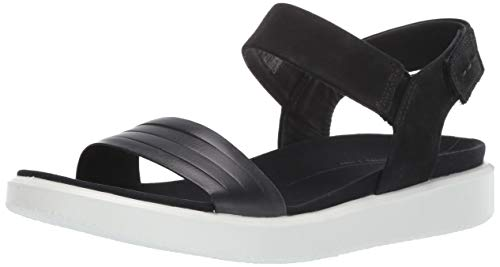 ECCO Women's Flowt Strap Sandal, Black, 39 M EU (8-8.5 US) from ECCO