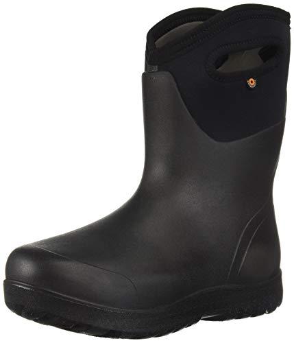 - Bogs Women's NEO-Classic Snow Boot, mid Black, 10 Medium US