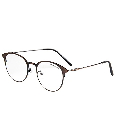 Jardin D'amour New Vintage Metal Eyeglasses Non-Prescription Clear Lens Glasses JA7205 - Ray Bn
