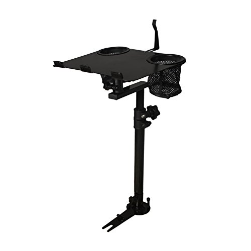AA-Products K005-B1 Car Laptop Mount Truck Vehicle Notebook Stand Holder with Non-Drilling - Laptop For Cars Stands
