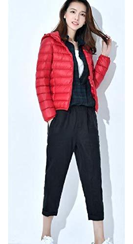 Ultra Outwear Energywomen Leggero Packable Piumini Cappuccio Puffer Rossi za5qPH