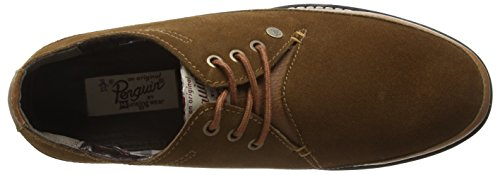 Homme Penguins Original cognac Marron Derbys La qfHTxHg