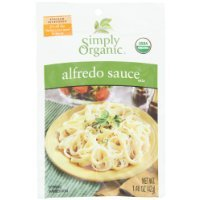 Simply Organic Alfredo, Seasoning Mix, Certified Organic, 1.48-Ounce Packets (Pack of (Simply Organic Alfredo)