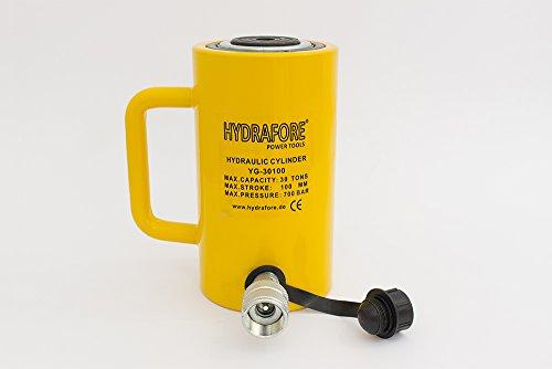 """30 tons 4"""" stroke Single Acting Hydraulic Cylinder Lifting Jack Ram YG-30100"""
