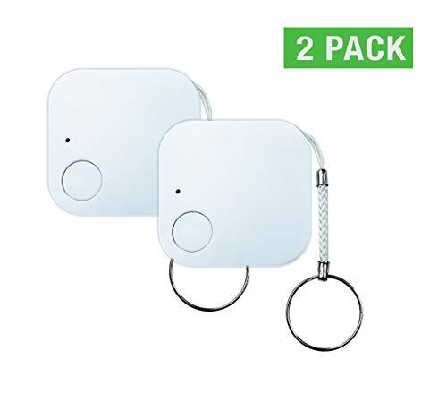 FOONCH Smart Finder GPS Locator Tracking Car, Pet, Kids, Bike, Motorcycle, Wallet, Luggage, Keys Anti Lost Alarm Sensor Pack of 2