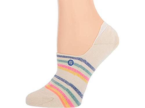 STANCE Women's Candy Stripe Socks, Off White, Small ()