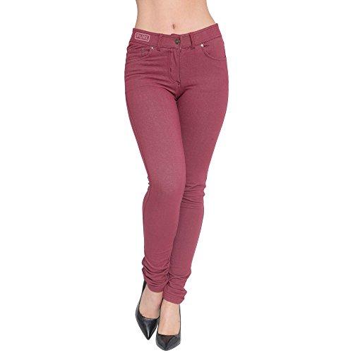 Donna Jeans Superglamclothing Jeans Jeans Borgogna Donna Superglamclothing Superglamclothing Borgogna fqpqZY0