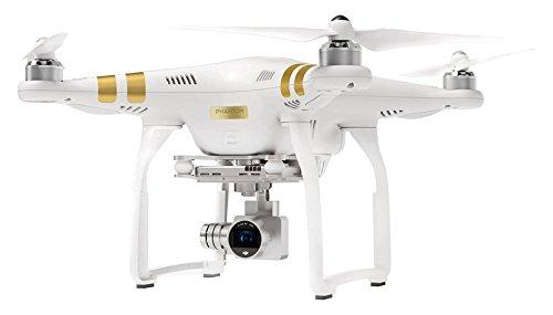 DJI Phantom 3 Drone Profesional con videocámara Impermeable, Blanco