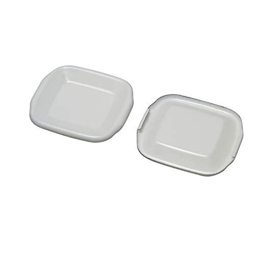 노다호로(Nodahoro) 노다법랑 법랑(Nodahoro) 스퀘어 square S 용법랑뚜껑(단품) 흰색 S용 화이트 시리즈 HFS-S