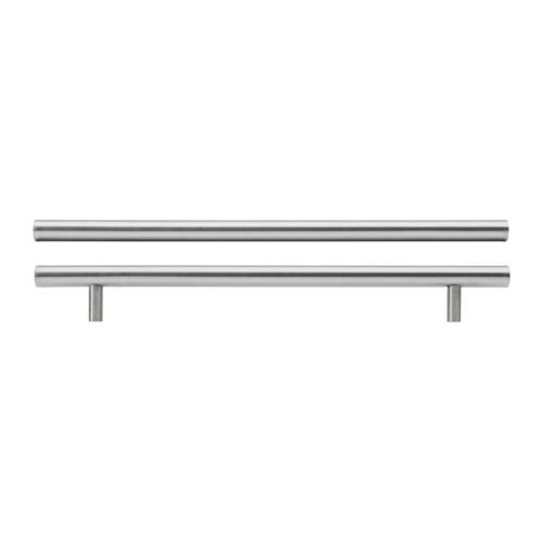 IKEA LANSA - Handle, stainless steel / 2 pack - 345 mm