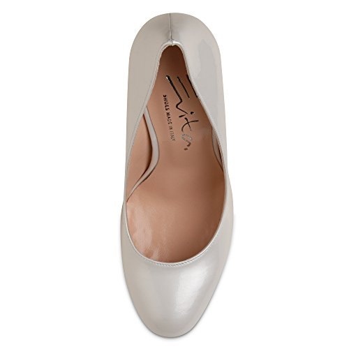 Evita Shoes - Zapatos de vestir de Piel para mujer Blanco - blanco