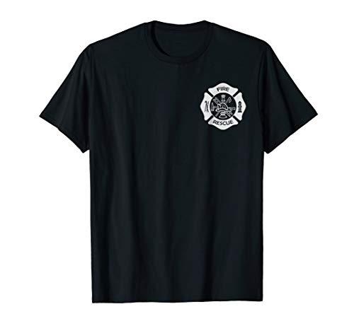 Firefighter Uniforms - Firefighter Uniform T-Shirt - Official Firemen