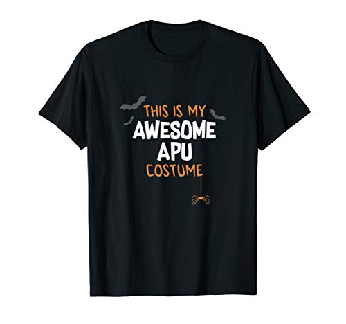 Mens Awesome Apu Costume Shirt, Funny Cute Halloween Gift -