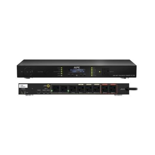 APC G50NETB-20A2 9-Outlet G-Type 20-Amp Rack-Mountable Power Filter