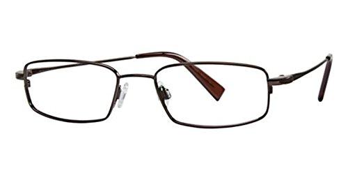 Flexon Flx 881Mag-Set Eyeglasses 218 Coffee 218 Demo 52 18 140 ()