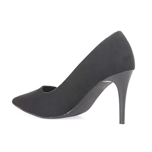 Negro Sintético La Mujer De Modeuse 50612 Zapatos Vestir nqwz1S0Xw