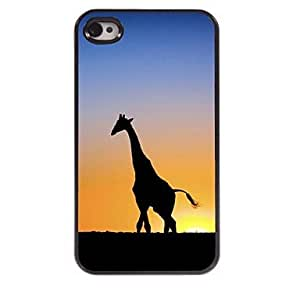 DD Giraffe Design Aluminum Hard Case for iPhone 4/4S