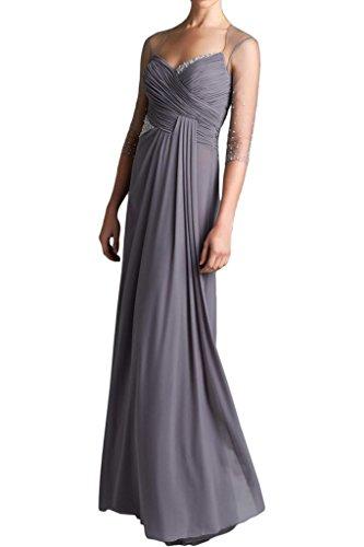 TOSKANA BRAUT - Vestido - trapecio - para mujer plata