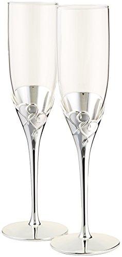 Lenox True Love Glass Flute Pair