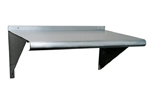 Stainless Steel Wall Mount Shelf. NSF Certified. All Sizes.. (18'' x 72'')