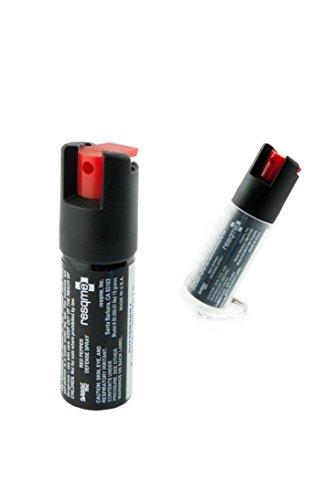 protectme Maximum Strength Pepper Spray (Black) - Pack of 2
