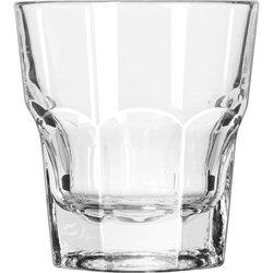 Libbey Glassware 15231 Gibraltar Tall Rocks Glass, Duratuff, 9 oz. (Pack of 36) - Gibraltar 9 Ounce Rocks