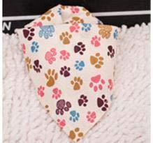 V-HOUE Dog Bandana 60pcs/lot 2017 Mix 60 Colors Adjustable New Dog Puppy Pet Bandanas 100% Cotton Pet Tie Size S My510 by V-HOUE