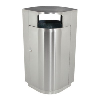 - Leafview 20-Gal Trash Receptacle Size: 45