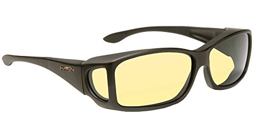 Haven Night Drivers Classic Large Rectangle Yellow Lens - Haven Glasses
