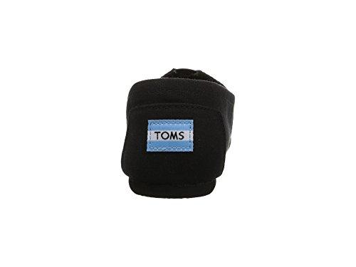 TOMS Women's Canvas Slip-On,Black Black,8.5 M by TOMS (Image #4)